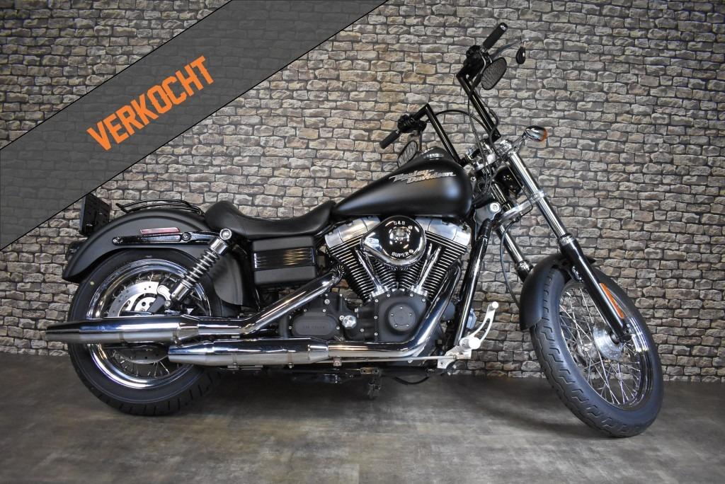 Harley Davidson, FXDB, Street Bob, 2006, Verkocht