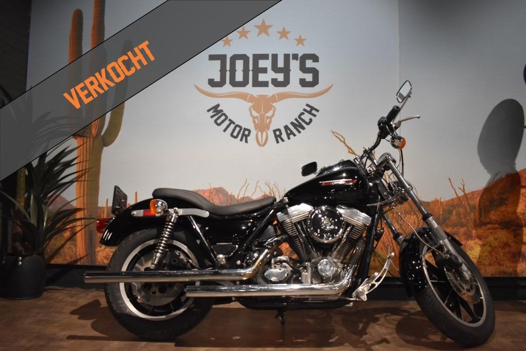 verkocht, Harley Davidson, FXRT, FXR, Sport Glide, 1985, verkocht