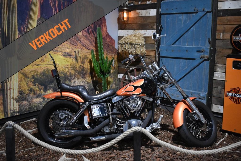 verkocht, Harley Davidson, Shovel, FLHF , Electra Glide, 1974, verkocht