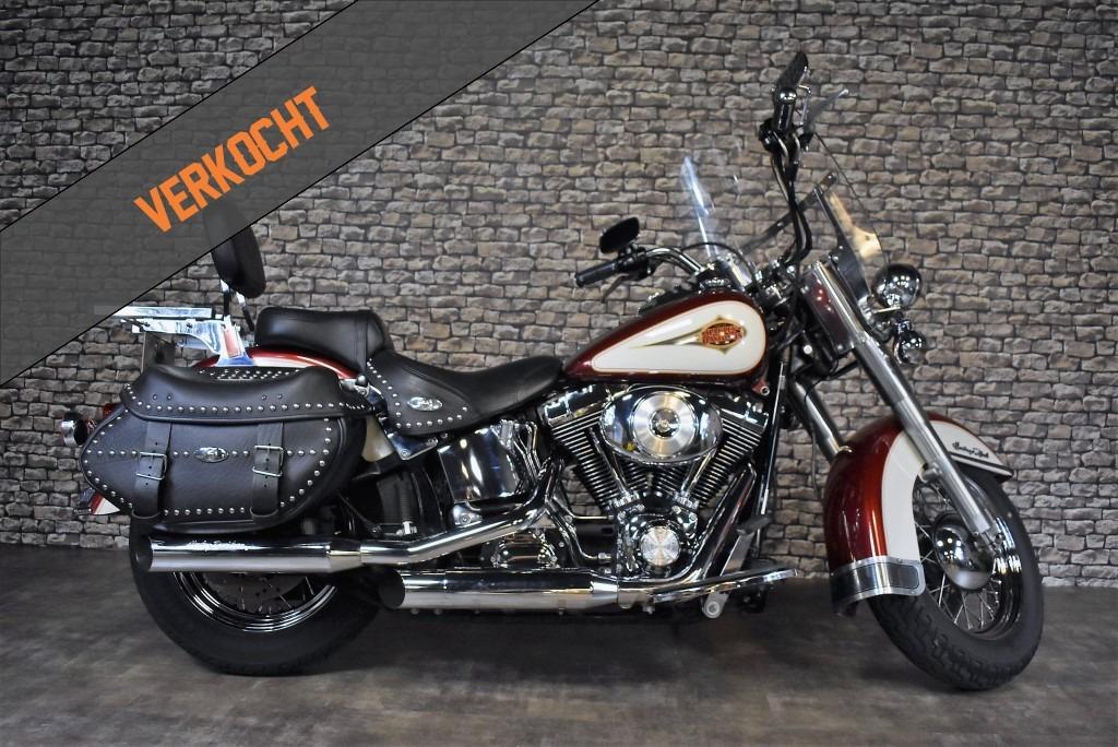 verkocht Harley Davidson, FLSTC, Heritage Classic, 2000, VERKOCHT