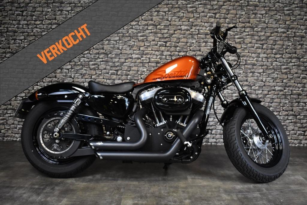verkocht Harley Davidson, Sportster, Xl 1200x, Forty eight, 48, 2010, Verkocht