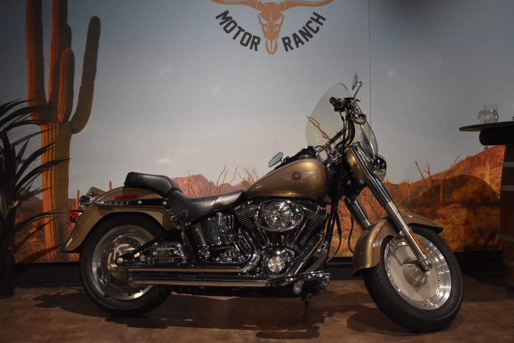 Harley Davidson, Fatboy , FLSTFI, 2004