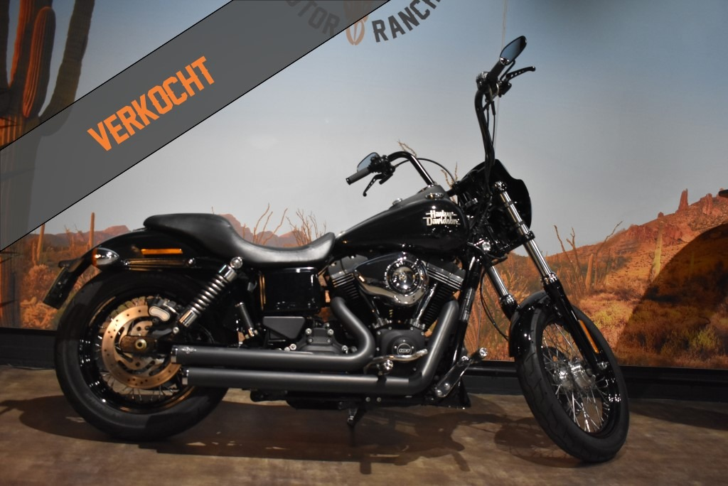 Harley Davidson, Streetbob, FXDB, Street Bob, 2015, verkocht