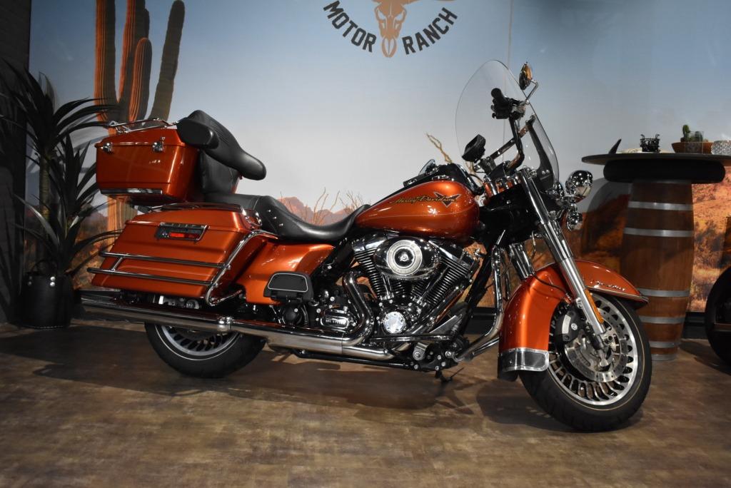 Harley Davidson, FLHR, Roadking, Road King, 2011