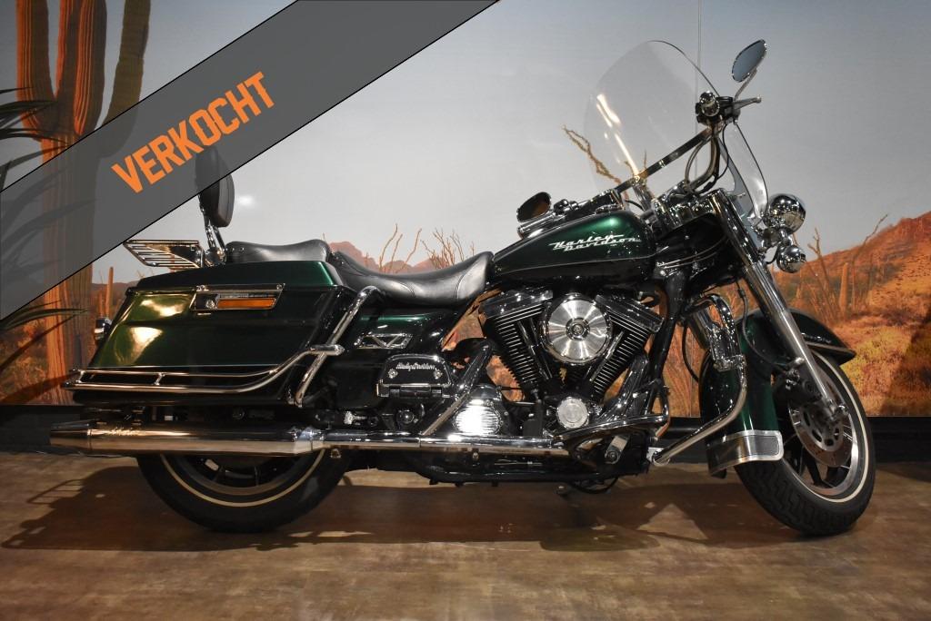 verkocht, Harley Davidson, Roadking, FLHR, 1997, verkocht