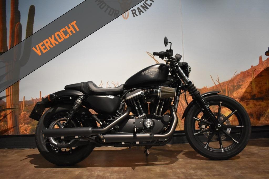 Verkocht Harley Davidson, Sportster, Iron 883, XL 883 N, 2017, Verkocht