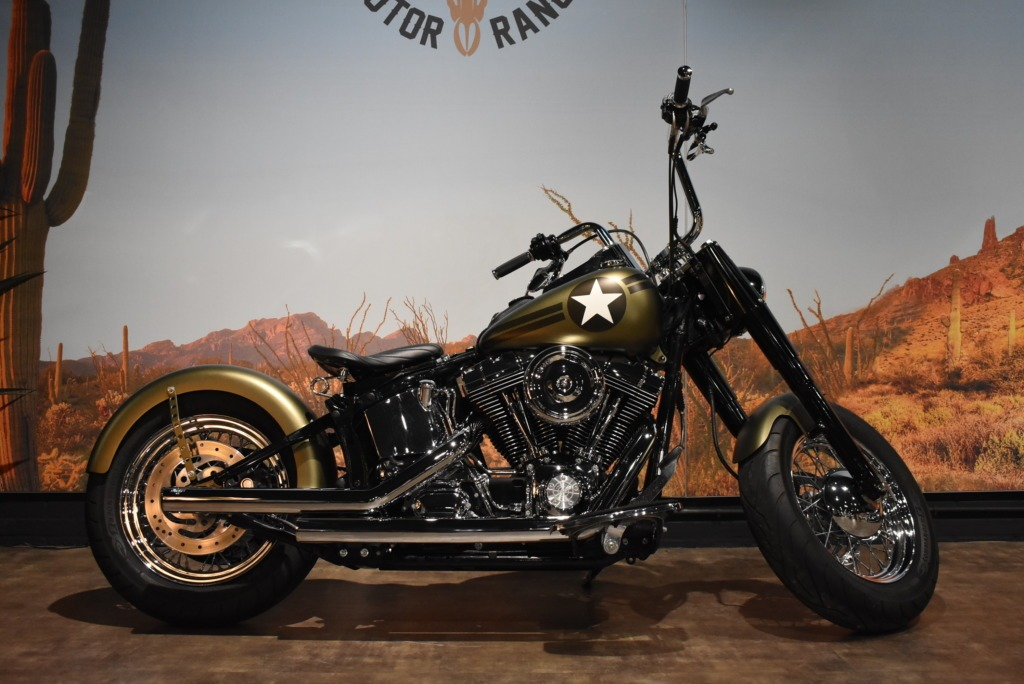 Harley Davidson, Bobber, Heritage, Softail, Custom, 2004