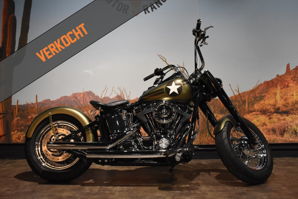 Harley Davidson, Bobber, Heritage, Softail, Custom, 2004, VERKOCHT