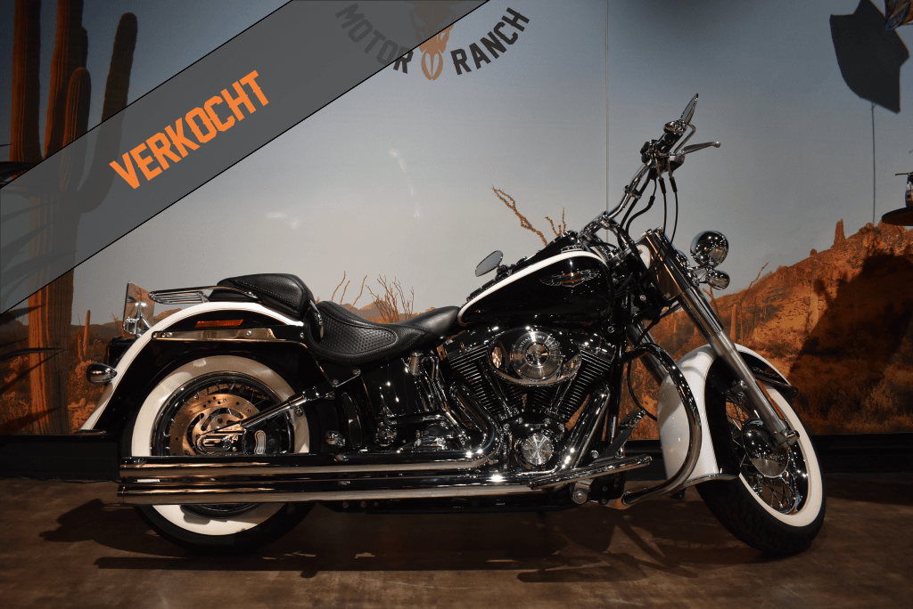 verkocht, Harley davidson, softail deluxe, FLSTNI, 2006, verkocht
