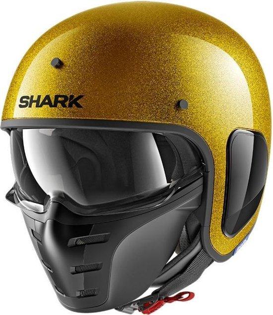 Shark blank glitter S drak fibre gold