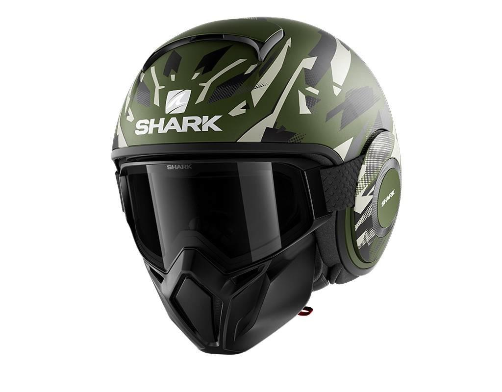 Shark, street drak kanhji mat green
