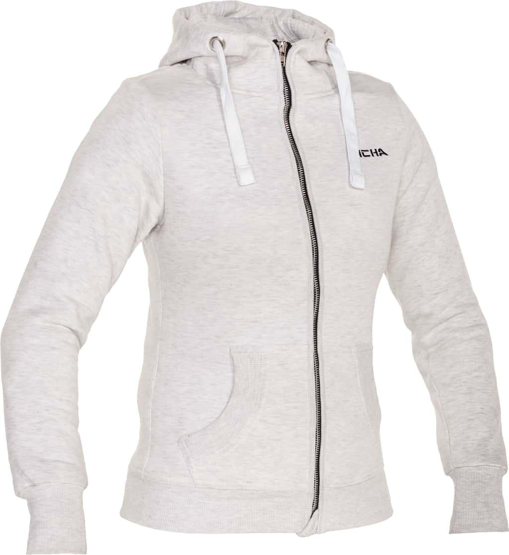 Titan hoodie lady, light grey, Richa
