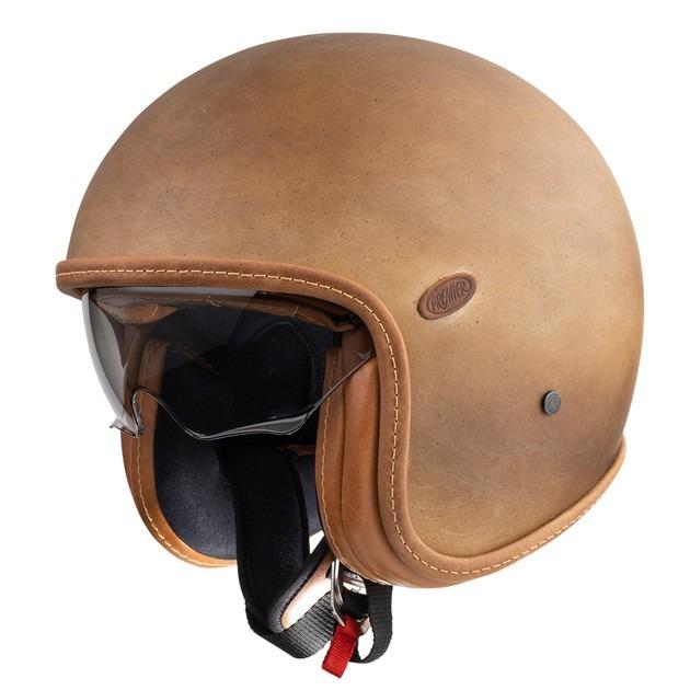 Vintage jethelm brown old style BM, Premier