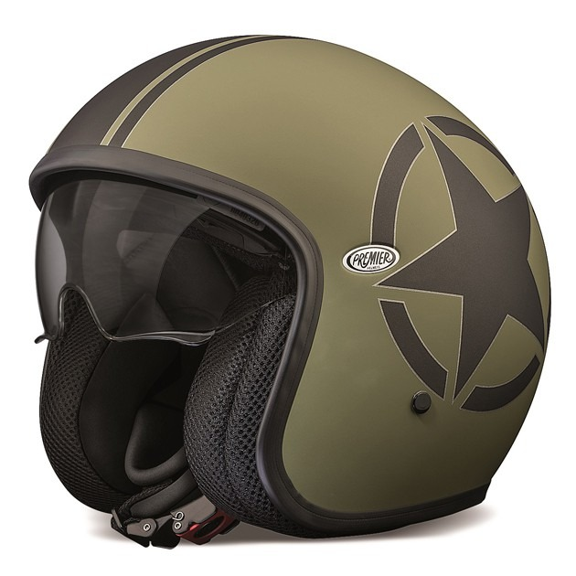 Vintage jethelm star military, Premier