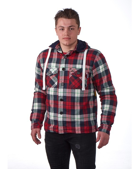 Woodchopper hoodie red, Grand canyon