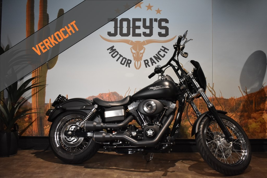 Harley Davidson, Street bob, FXDB, Clubstyle, 2006, verkocht