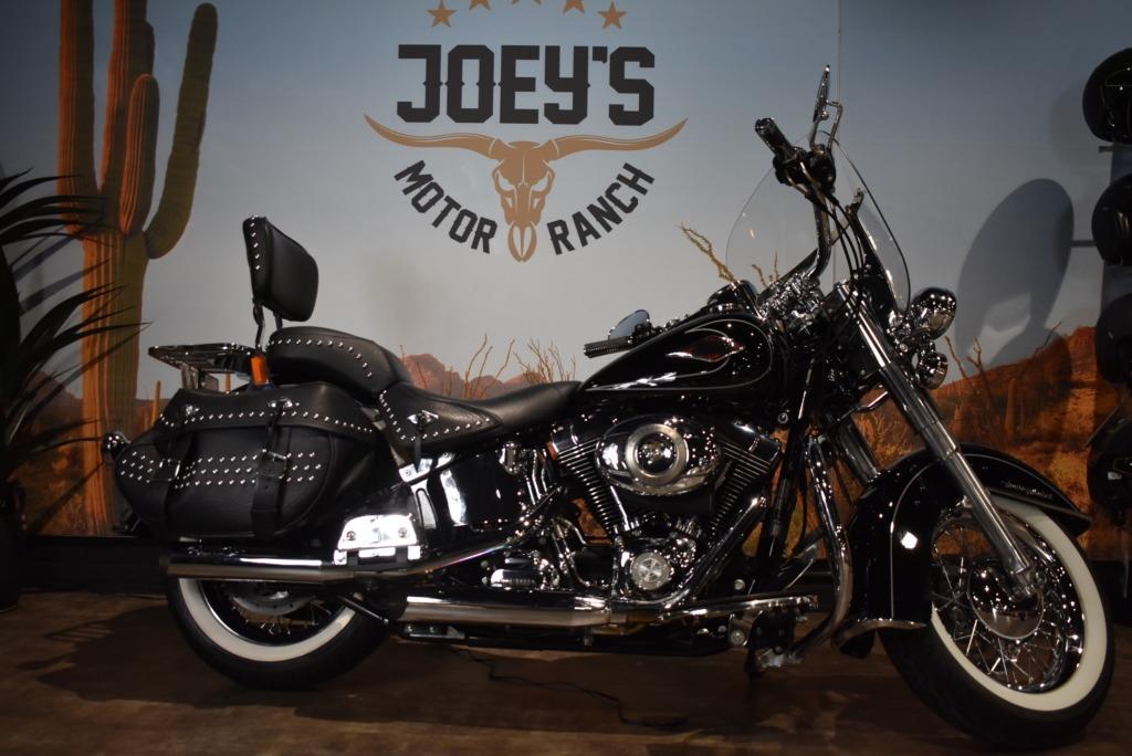 Harley davidson, heritage classic, softail, FLSTC, 2011