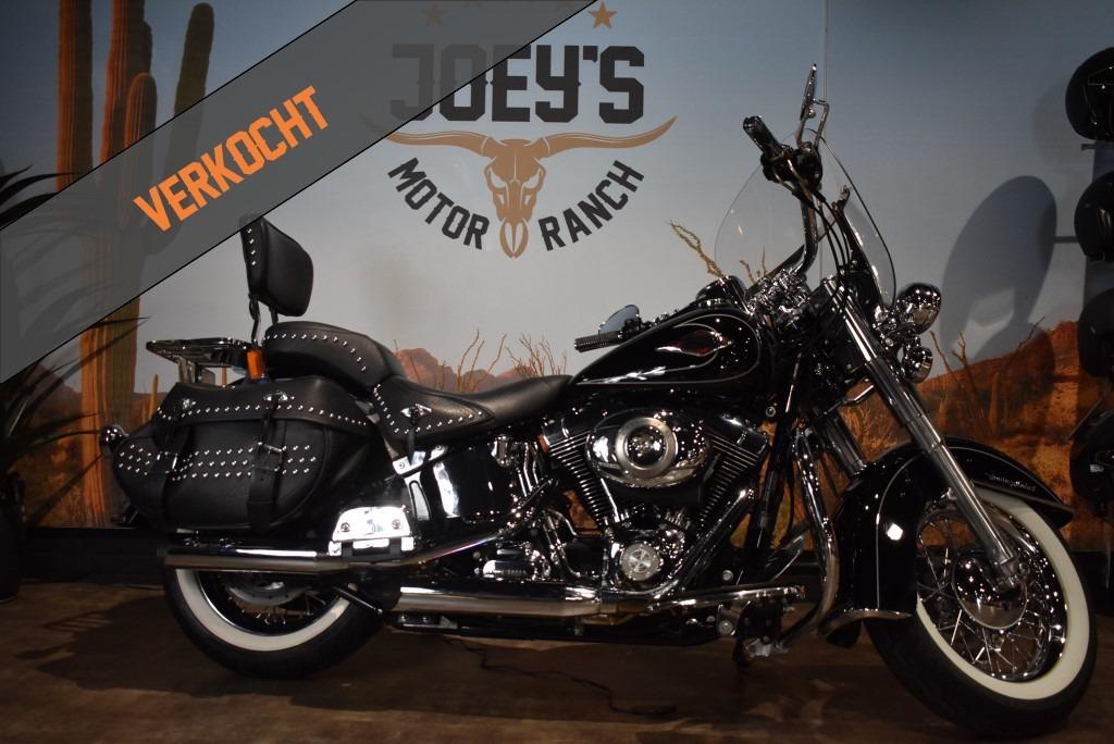 Harley davidson, heritage classic, softail, FLSTC, 2011, Verkocht