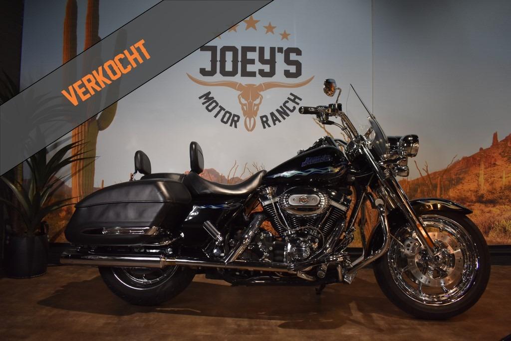 verkocht, Harley Davidson, Road King CVO, FLHRSE3, Screaming Eagle, 110CI, 2007, verkocht.