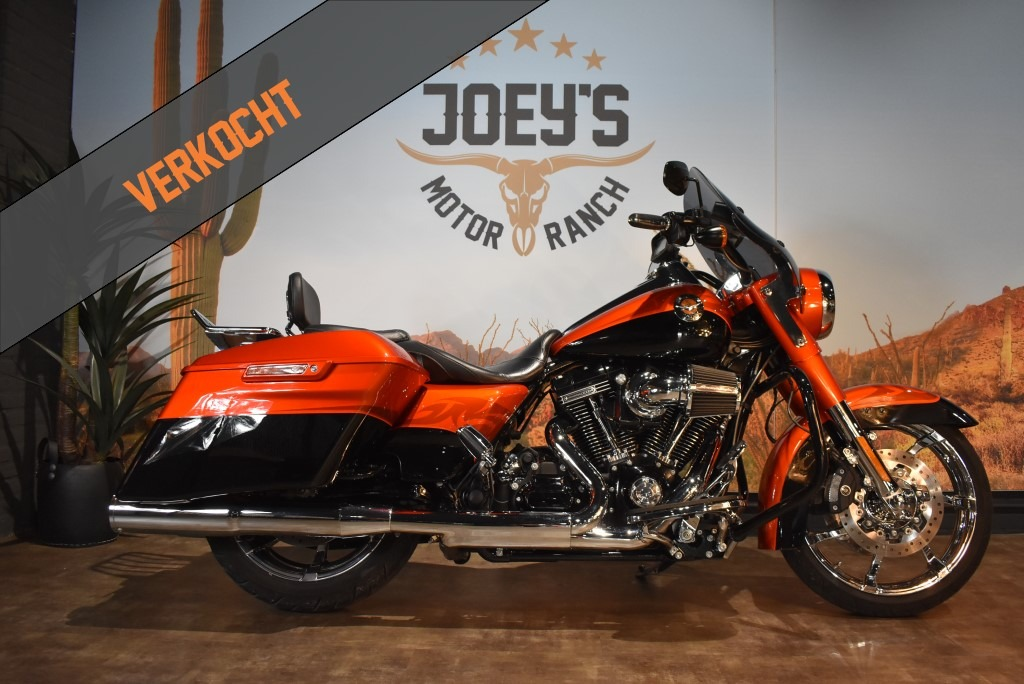ACTIE, Harley Davidson, Road King, CVO, FLHRSE, 2014, ACTIE VERKOCHT