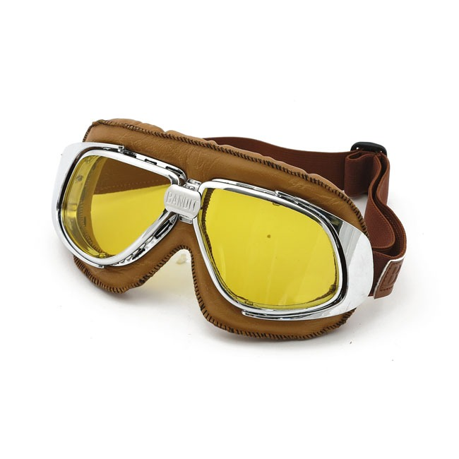 bandit classic goggles, geel glas