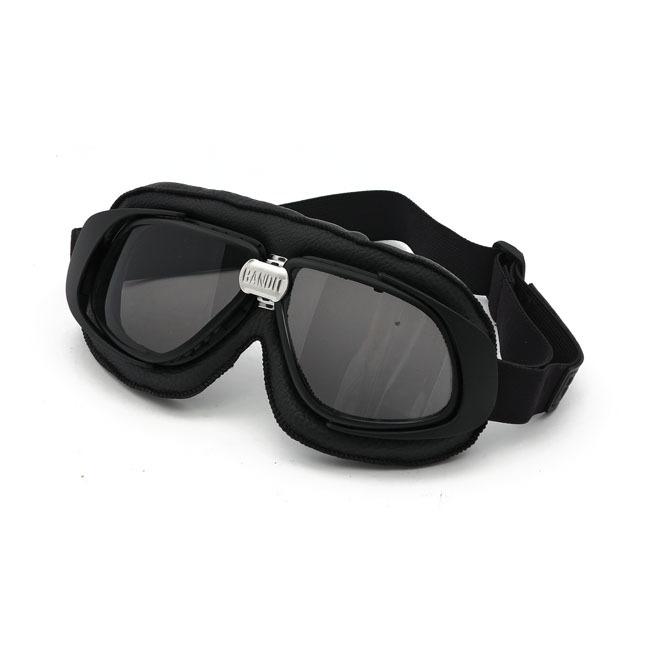 Bandit classic goggles (black), smoke