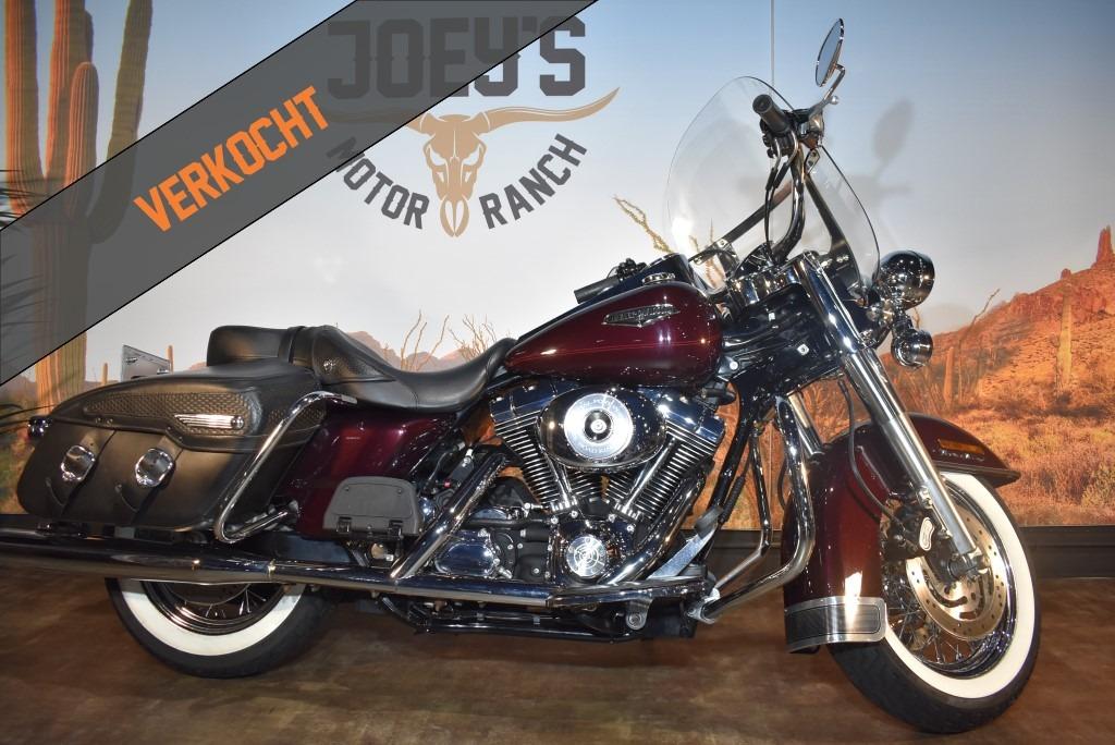 verkocht Harley Davidson, Road King Classic, FLHRC, 2006