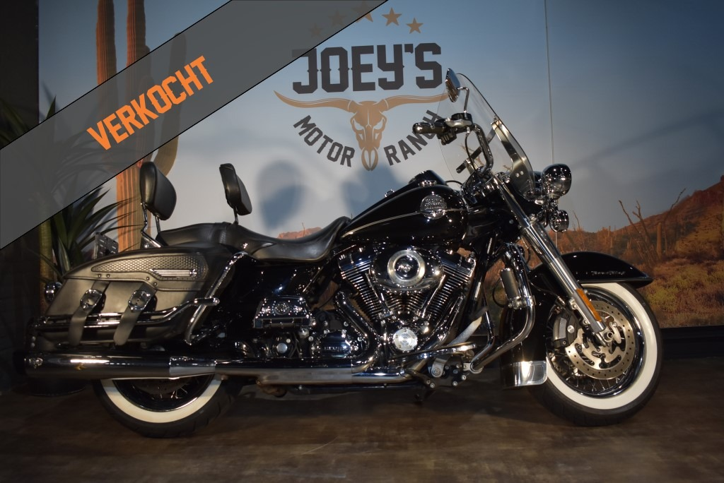 Harley Davidson, Road King Classic, FLHRC, 2010 verkocht