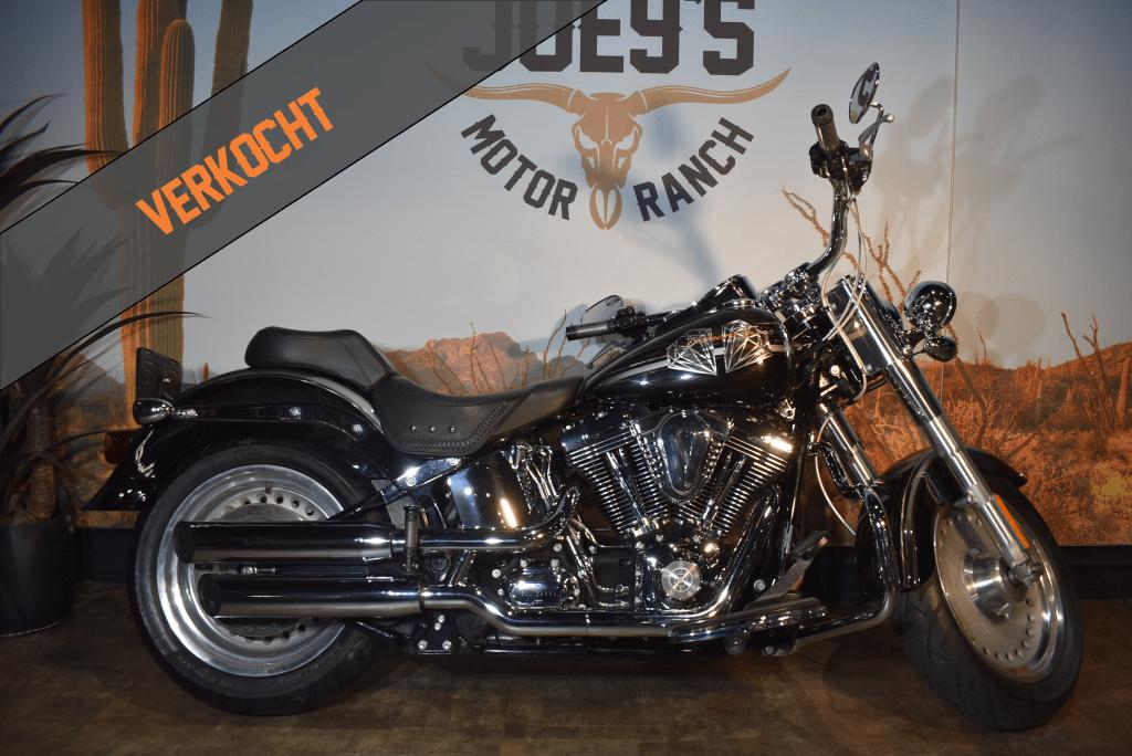 VERKOCHT Harley Davidson, Fat Boy, Fatboy, FLSTF, 2007, VERKOCHT