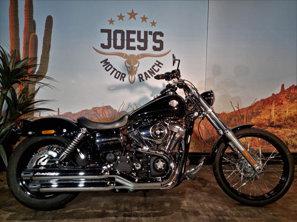 Harley Davidson, FXDWG, Wide Glide, Dyna, 2010