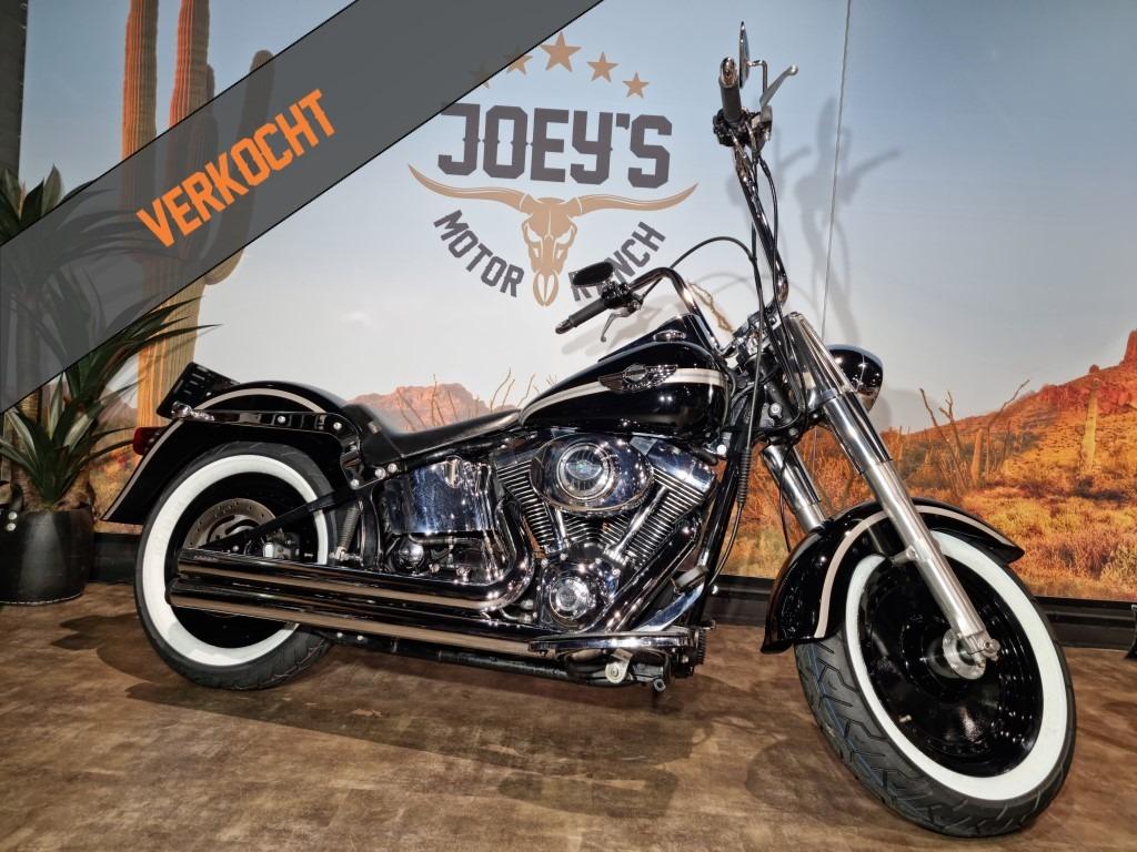 Harley Davidson, Fat Boy, FatBoy, FLSTF, 100th Anniversary, 2003, verkocht