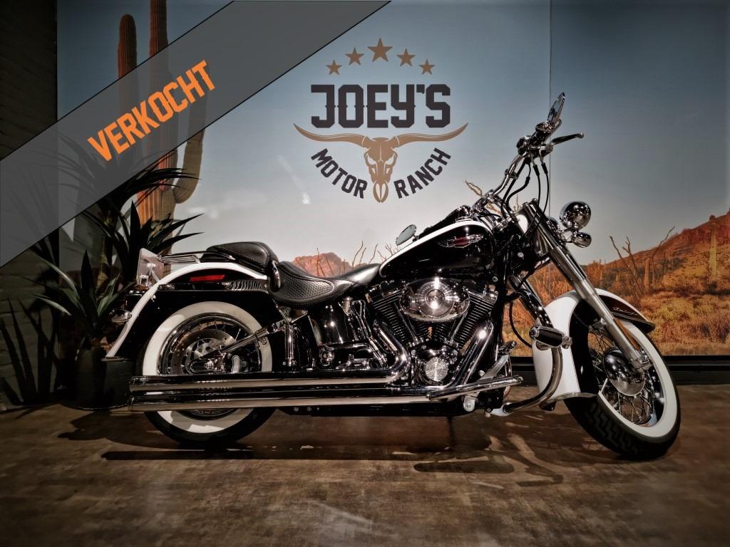 Verkocht, Harley Davidson, FLSTN, Softail, Deluxe, 2006, VERKOCHT