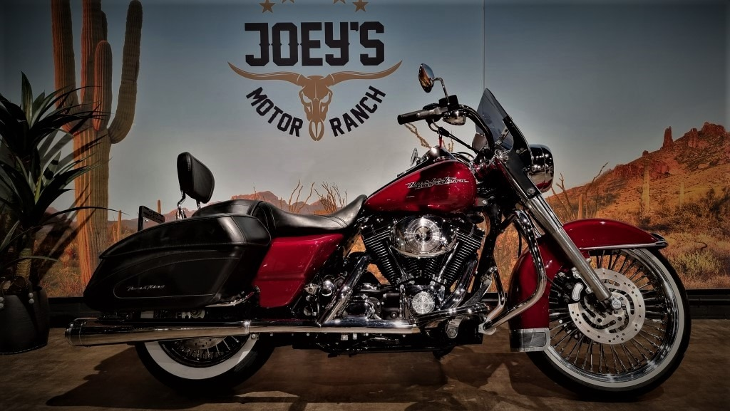 Harley Davidson, FLHRSI, Road King Custom, Big Spokes, 2004,