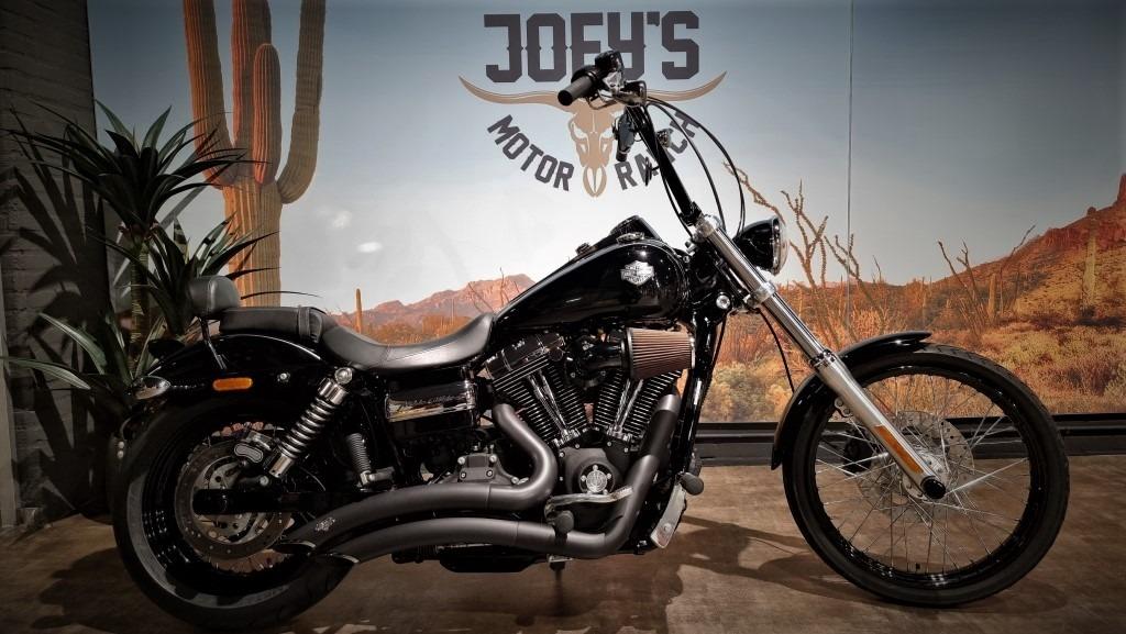 Harley-Davidson, FXDWG, Wide Glide, Dyna, 2010